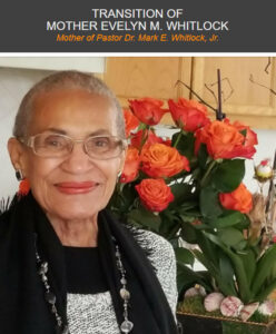 Passing of Mother Whitlock