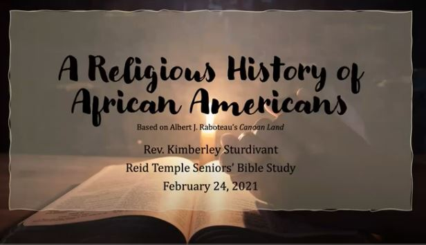 A Religious History Of African Americans 2