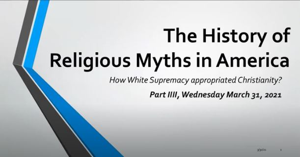 THE HISTORY OF RELIGIOUS MYTH IN AMERICA PART 4