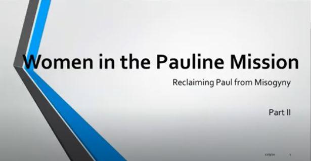 Reclaiming Paul from misogyny