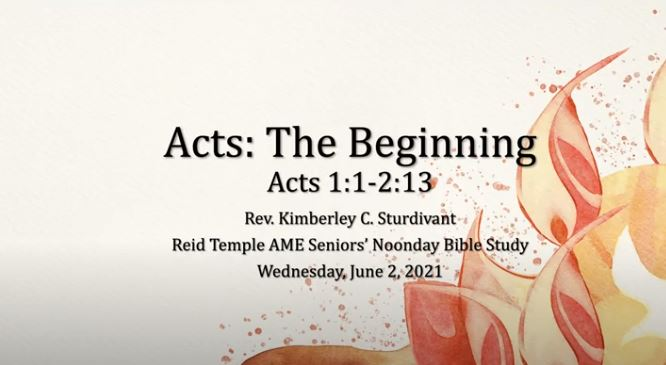 Acts The Beginning