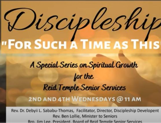 Discipleship - For Such a Time as This